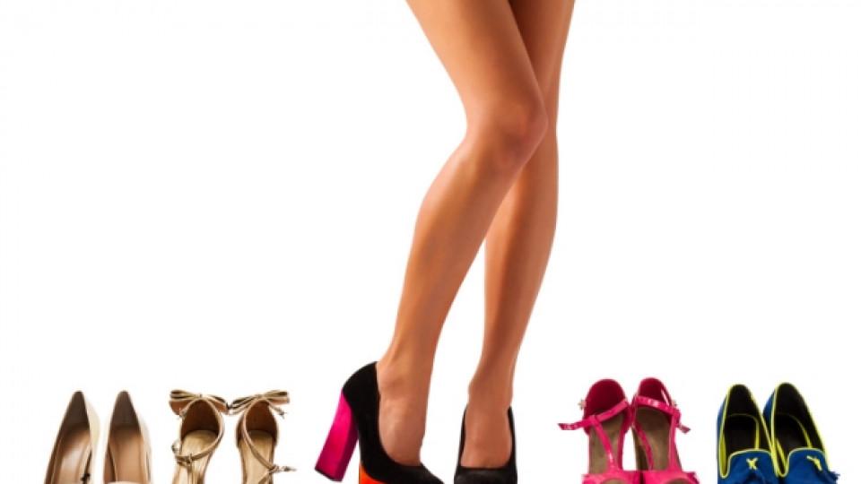 Обувки вместо секс