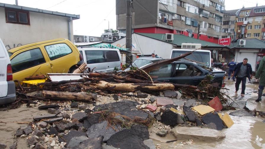 Наводнението в Аспарухово