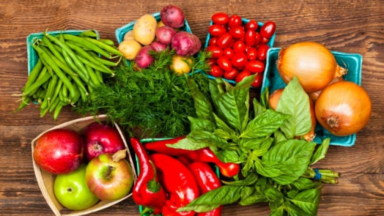 плодове зеленчуци витамин хранителни вещества кресон китайско зеле цвекло