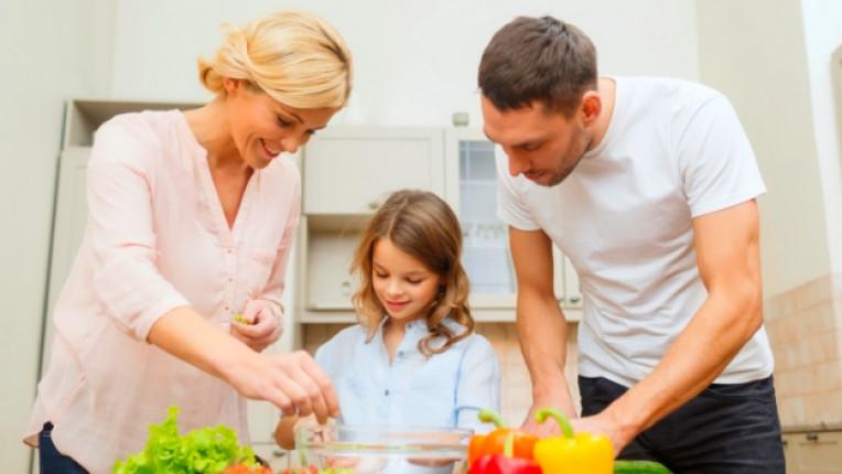 семейство щастие храна