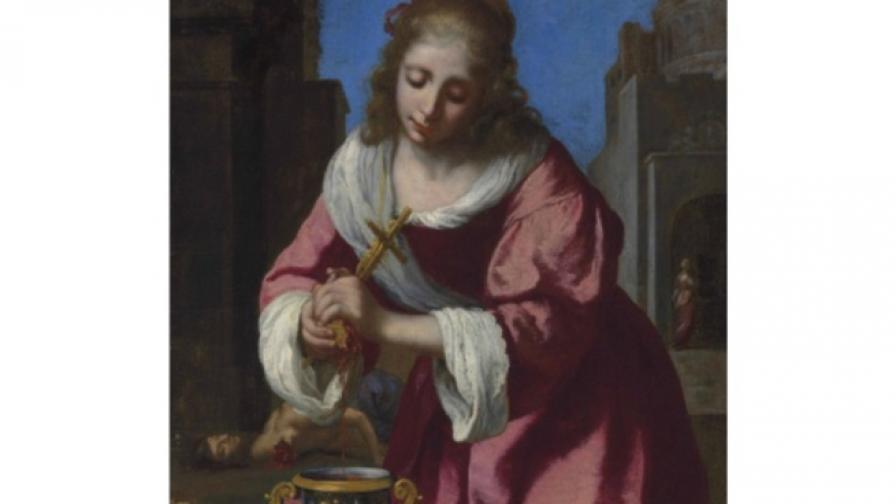 Продадоха най-старата творба на Вермеер