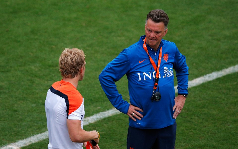 Дирк Каут: Ван Гаал може да просперира в Юнайтед