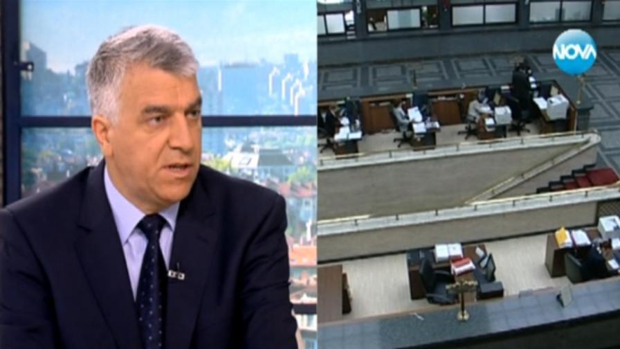 Гечев: Искров поиска банкова ваканция, ДПС и ГЕРБ подкрепиха идеята