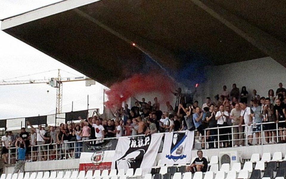 Тече записването на фенове на Локо Пд за мача с Левски