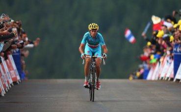 Винченцо Нибали аут от Тура с фрактура, причинена от фен