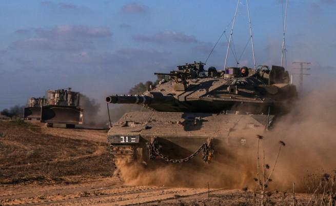 Израел започна сухопътна операция в Газа