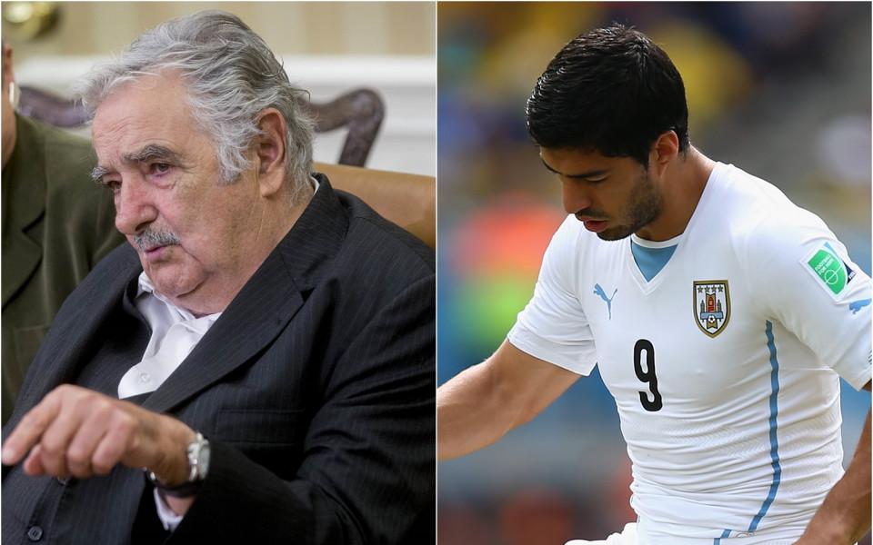 Президентът на Уругвай: На Суарес му трябва психиатър, не санкции