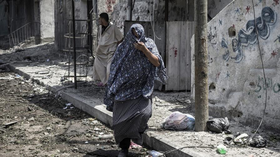 """Най-кръвопролитният ден в конфликта Израел-""""Хамас"""""""