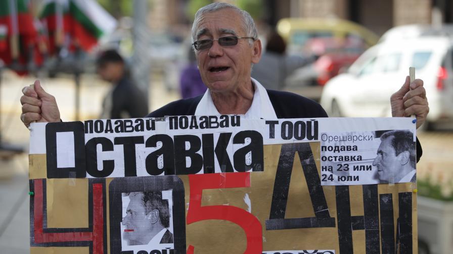 Протест пред Министерския съвет