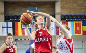 Девойките U16  на България на 1/4-финал на ЕП, дивизия Б