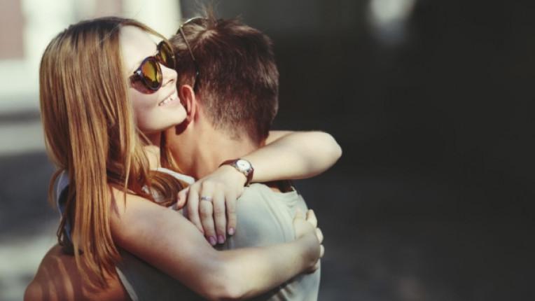 мъж жена любов щастие усмивка романтика