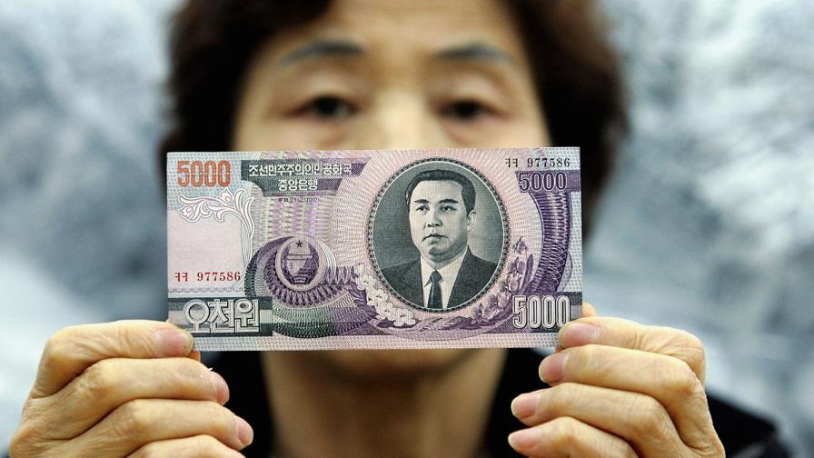 Ким Чен-ун изтри дядо си от нова банкнота
