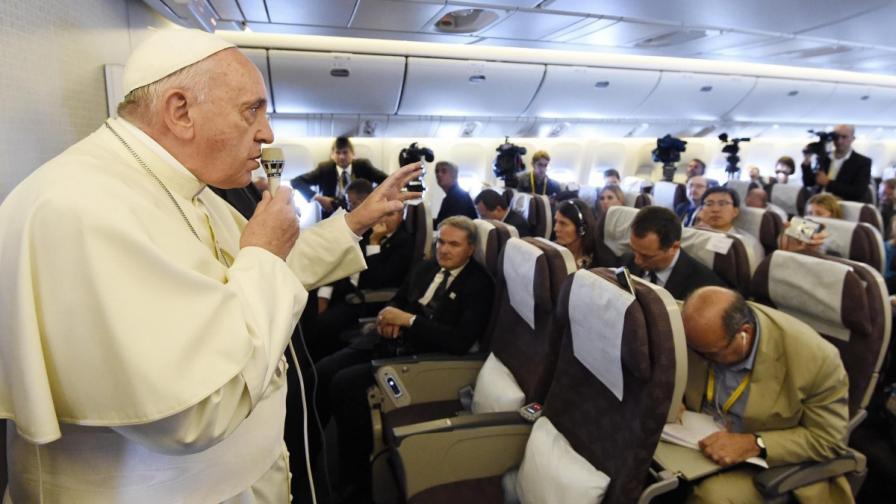 """Папа Франциск: Имам още """"две-три години"""""""
