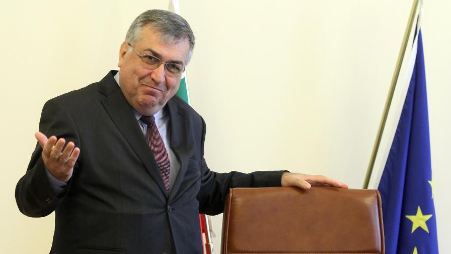 Служебният премиер проф. Георги Близнашки