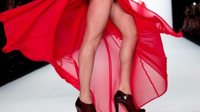 мъж крака висок ток Седмица на модата Берлин