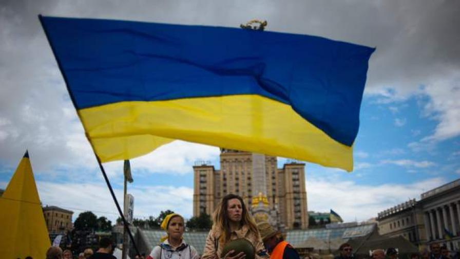 Украинското знаме