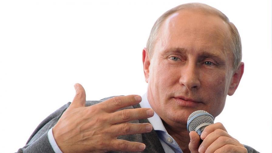 Путин: Проблемът на Киев е, че отказва преговори със сепаратистите