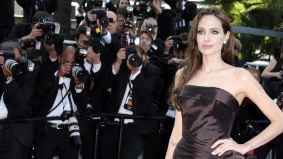 Анджелина Джоли пристига на тазгодишния кинофестивал в Кан