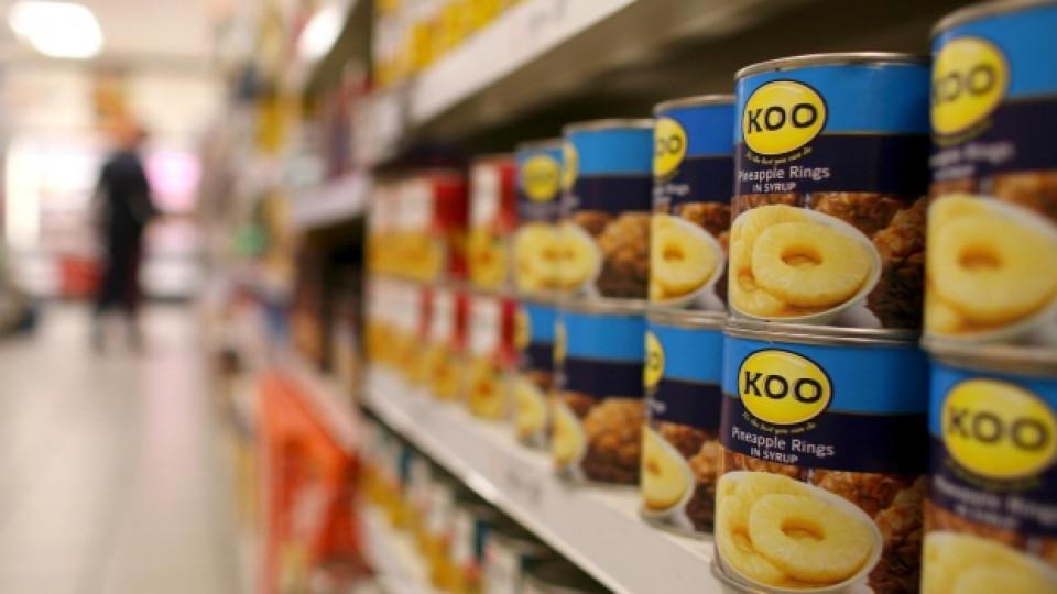 Почти няма храна, която да не се продава в консервиран вид