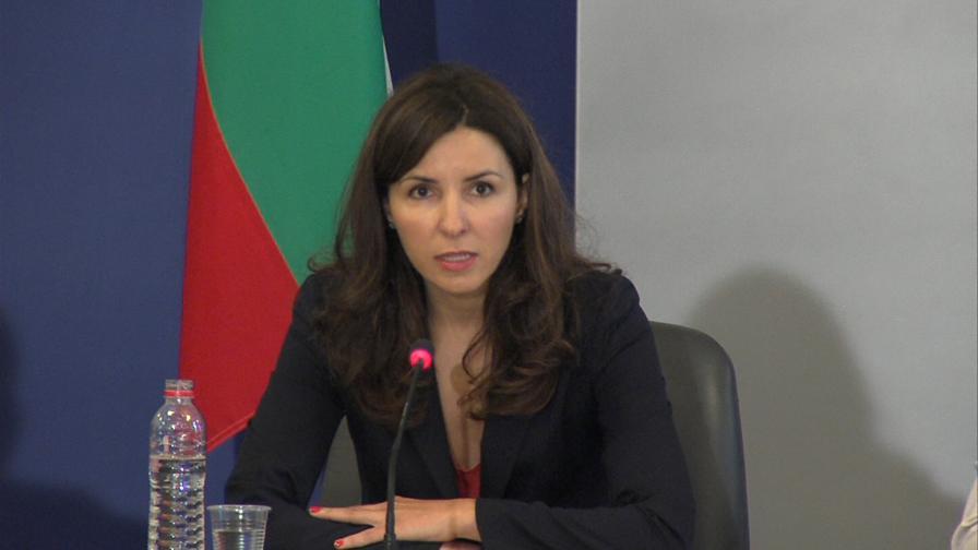 Вицепремиерът по управление на средствата от Европейския съюз Илияна Цанова