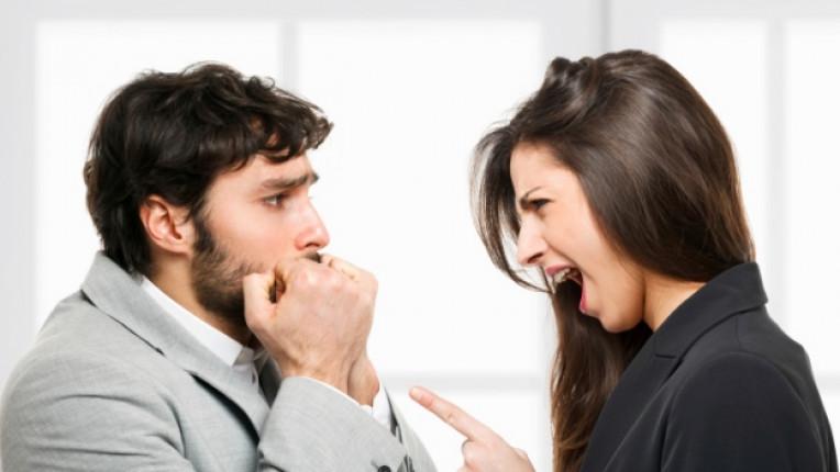 гняв скандал двойка връзка