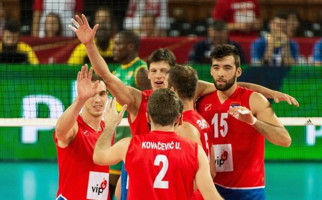 Националният отбор по волейбол на Сърбия източник: БГНЕС