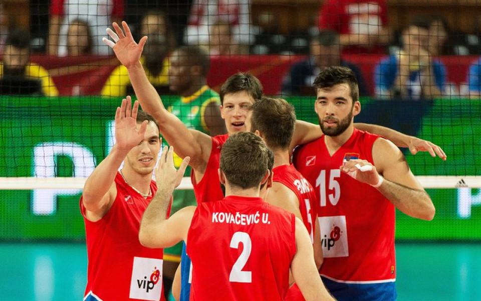 Сърбия изненада световния шампион на старта на европейското