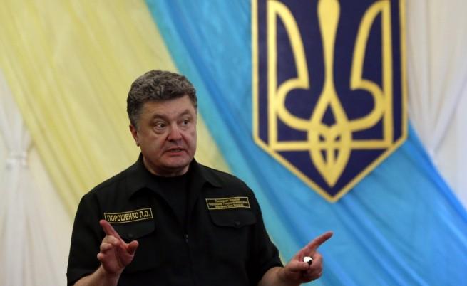 Порошенко обеща Крим да бъде върнат на Украйна
