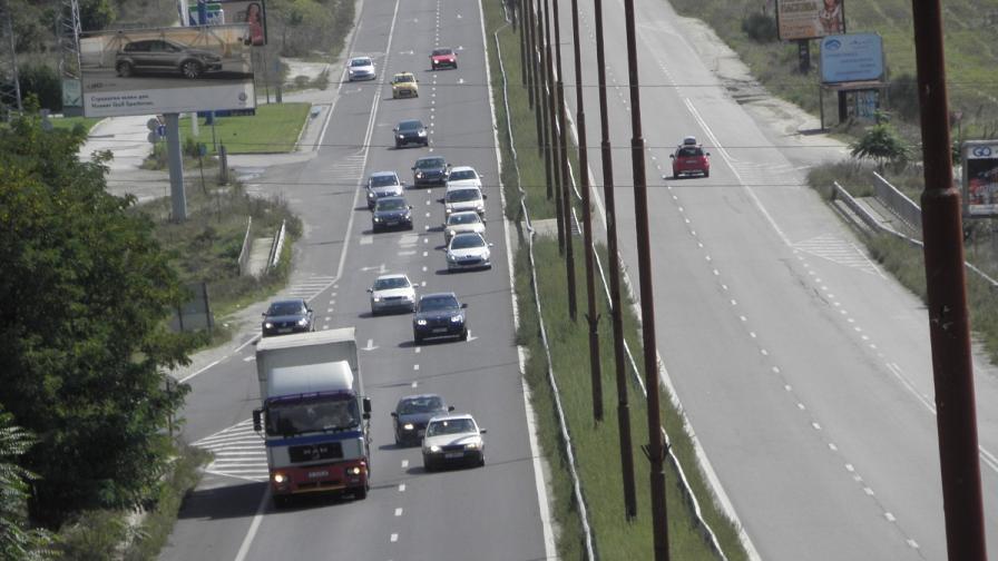 Засилен трафик към столицата след почивните дни