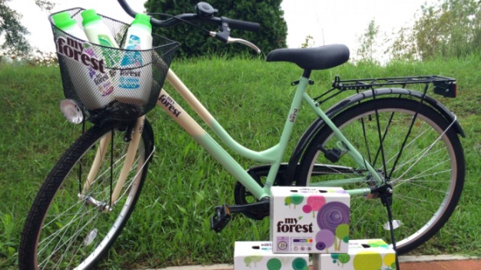 Спечели ретро колело с My Forest и Edna.bg