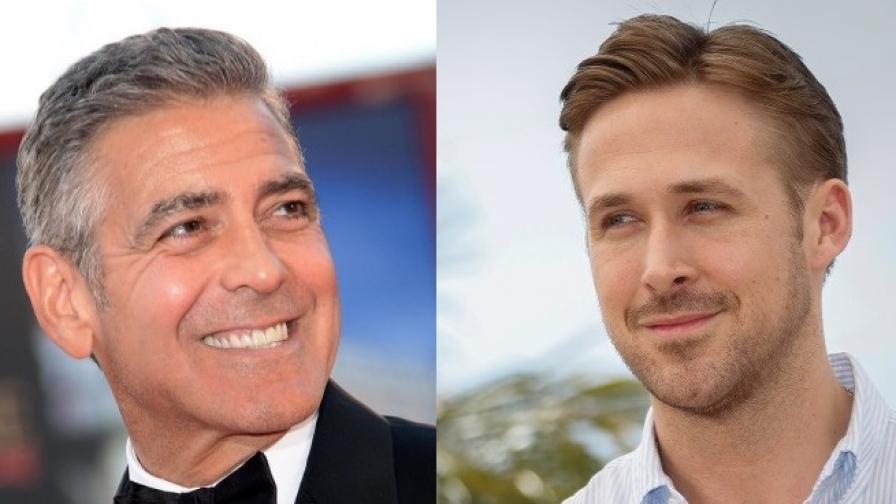 Джордж Клуни и Райън Гослинг
