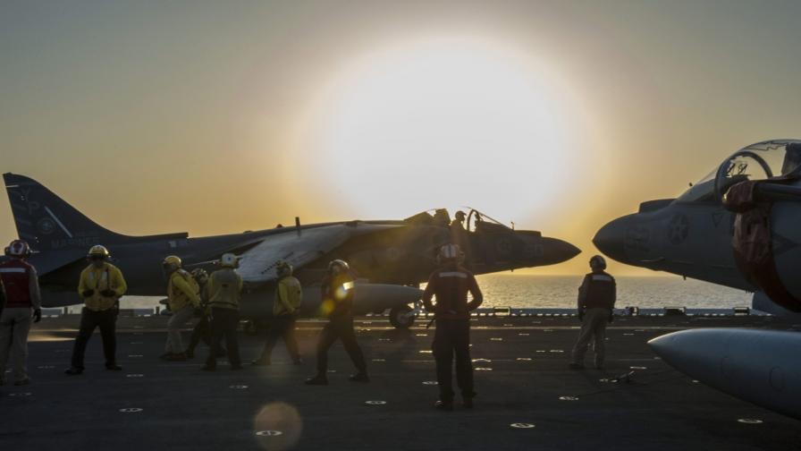 САЩ разполага отряд за бързо реагиране в Близкия изток