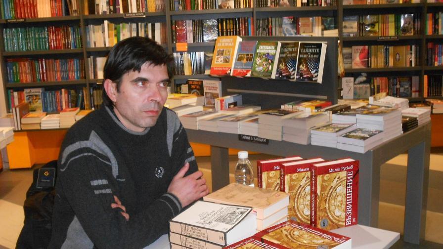 Българинът Милен Русков с Награда за литература на ЕС за 2014 г.