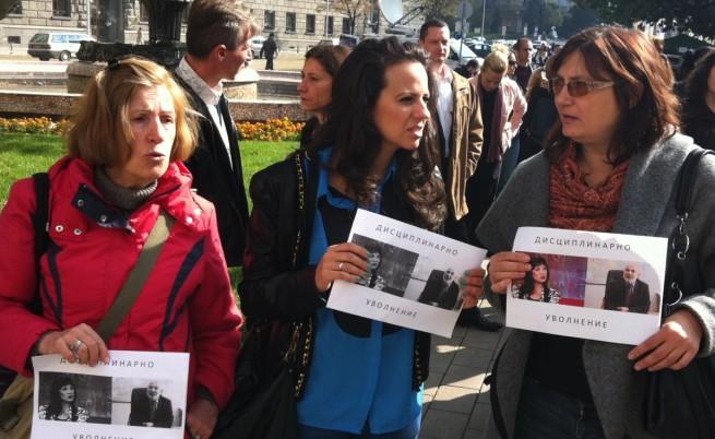 Родители в няколко града протестираха срещу насилието над деца