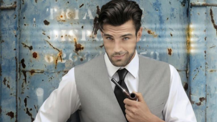 вратовръзка сексапил мъж