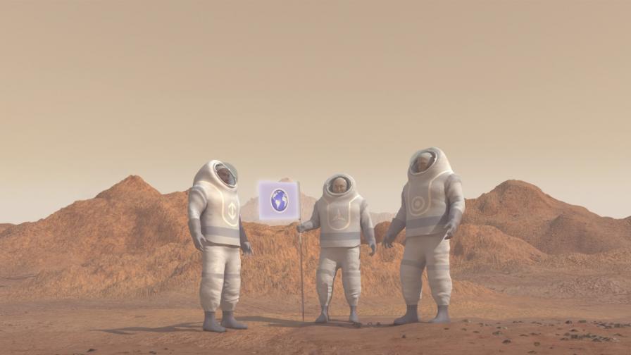 Човек може да оцелее на Марс около 68 дни