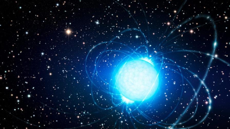 """Регистрираха рядко космическо явление - """"звездотресение"""" на магнетар"""
