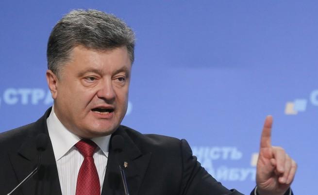 Порошенко осъди изборите в Източна Украйна и призова Русия да не ги признава