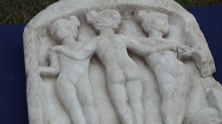 Археолози откриха нимфи в Хисаря