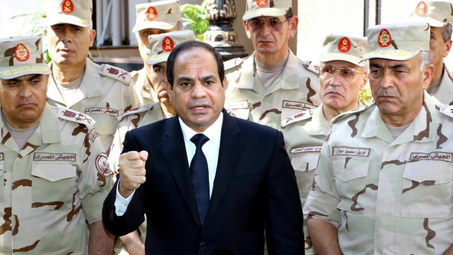 Египетският президент Абдел Фатах ас Сиси