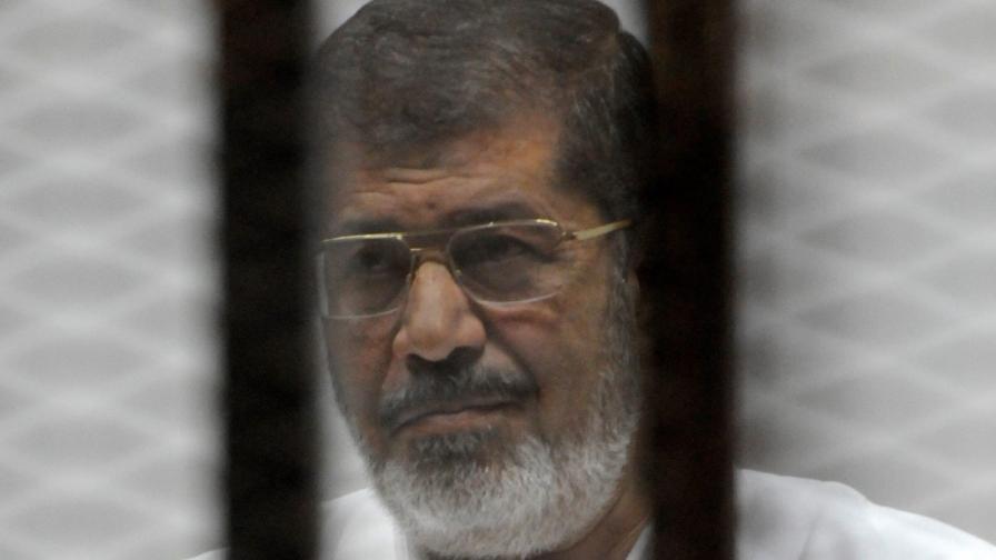Сваленият президент Мохамед Морси
