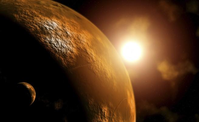 Комета промени състава на атмосферата на Марс