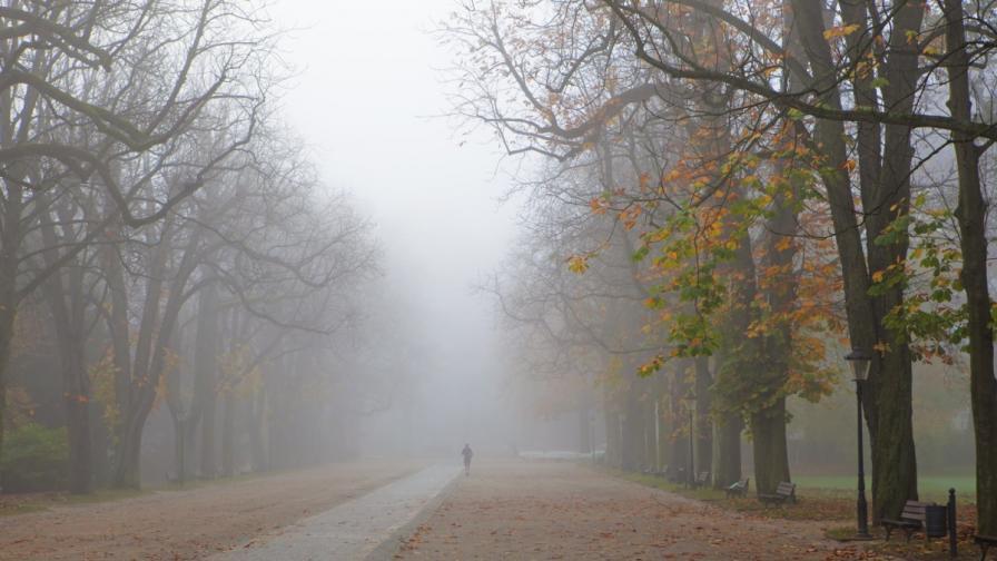 <p>Застудява, къде ще има мъгли</p>