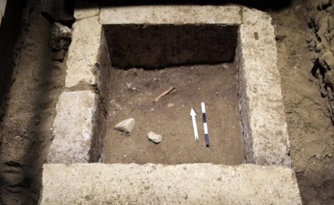 Откриха скелет в гробницата в древния Амфиполис