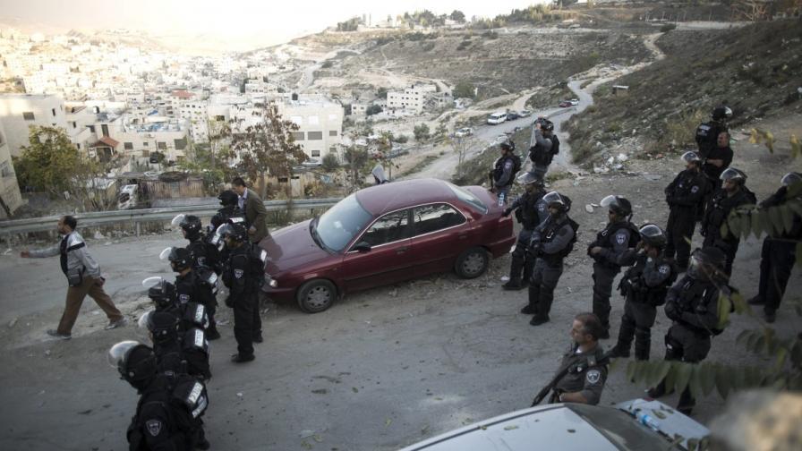Израелски гранични полицаи