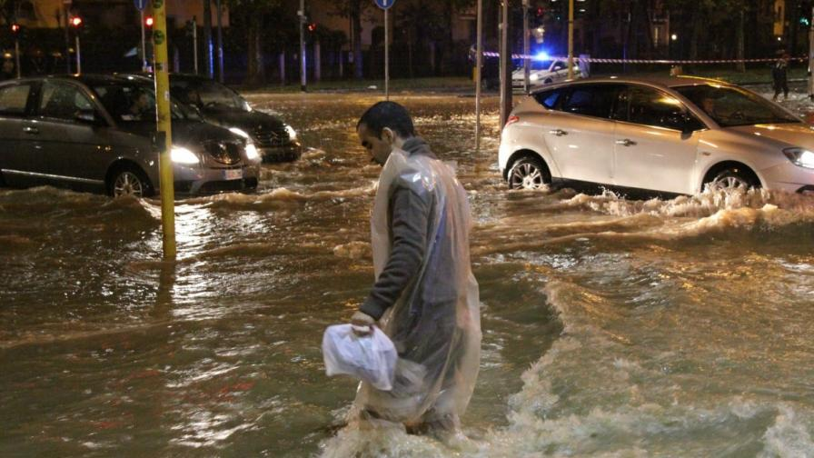Наводнения в Милано