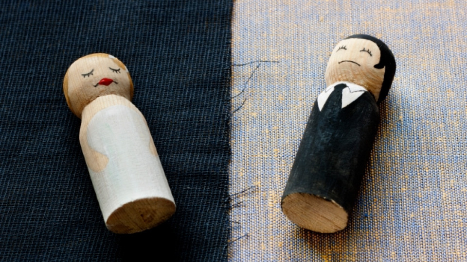 Рискът от развод расте