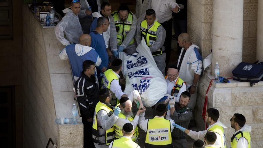 Жертвите в Йерусалим – с американско и британско граждаство
