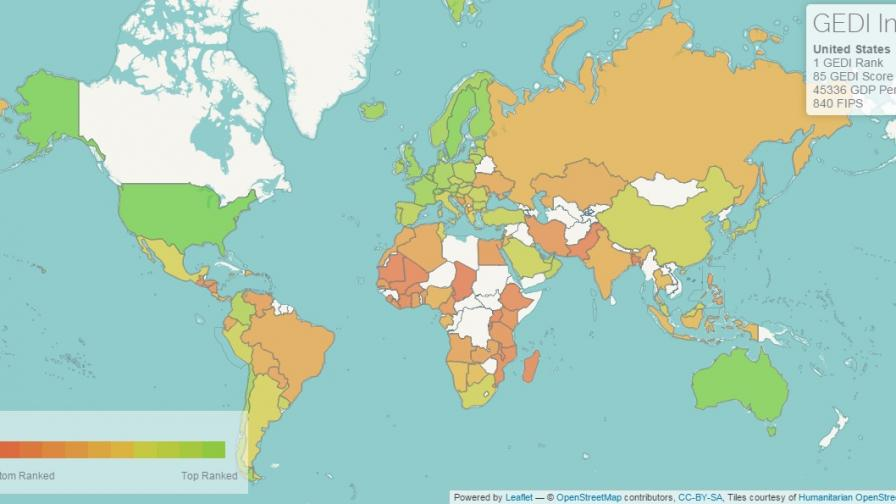 България 44-та в класация за предприемачество (графика)