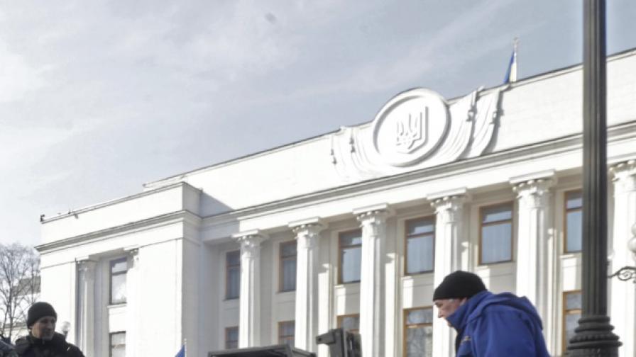 Коалиционно споразумение за управление в Украйна